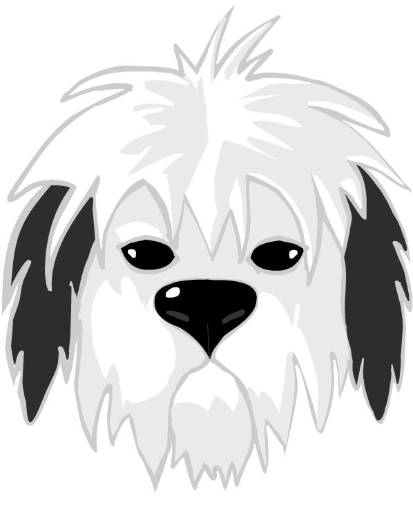 Imagini pentru lupi si caini albi desenati