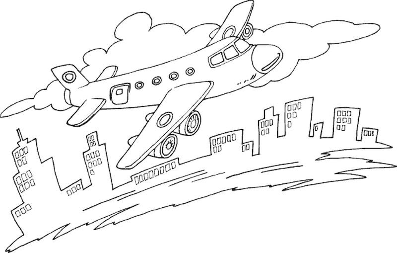 Planse De Colorat Cu Avioane Planse De Colorat