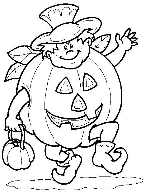 Dovleci Ciopliti De Halloween Planse De Colorat Planse De
