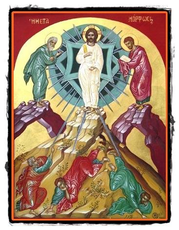 Schimbarea la Față a Domnului nostru Iisus Hristos (6 ...  |Schimbarea La Fata
