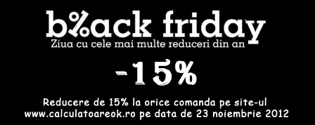 Black Friday la laptopuri second hand