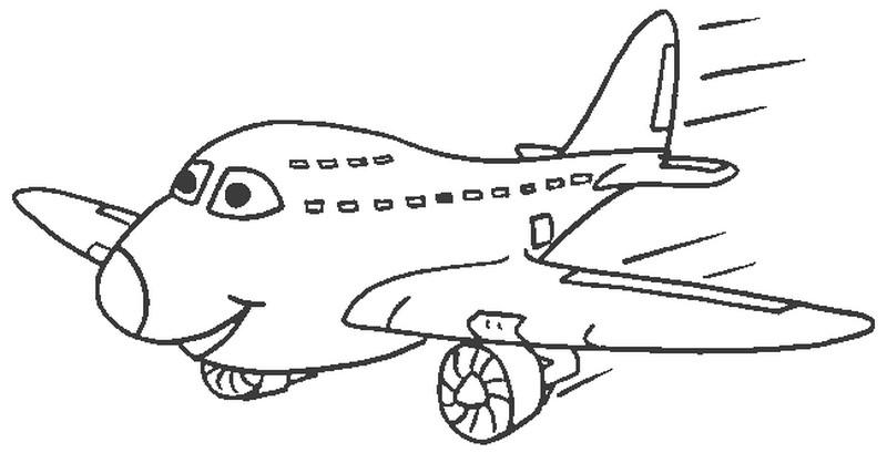 Planse De Colorat Pentru Copii Cu Avioane Planse De Colorat