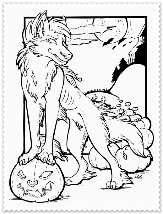 Monstri de halloween planse de colorat planse de colorat for Cute halloween coloring pages free